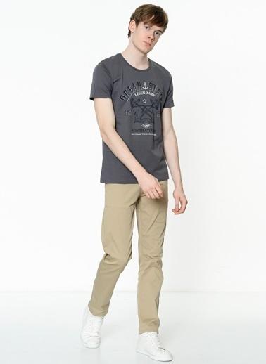 Lee Cooper Baskılı Tişört Gri
